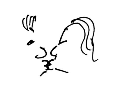Liebende Küssende