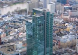 Bürohäuser Frankfurt City